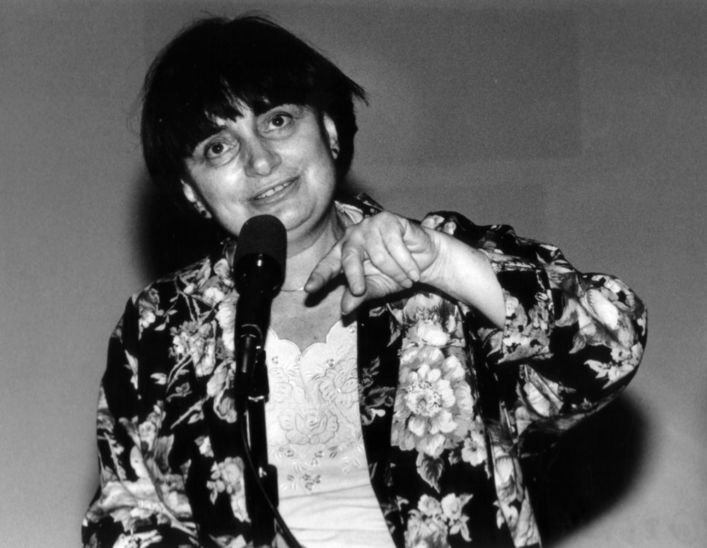 Director Agnes Varda ( Vagabond ) at the 29th San Francisco International Film Festival, March 29, 1986. Photo by Pamela Gentile