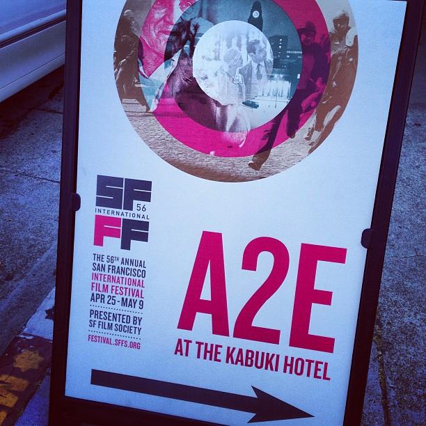 A2E at the Kabuki Hotel