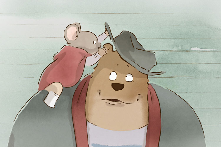 Ernest and Celestine , Stéphane Aubier, Vincent Patar and Benjamin Renner (France/Luxemburg, Belgium 2012)
