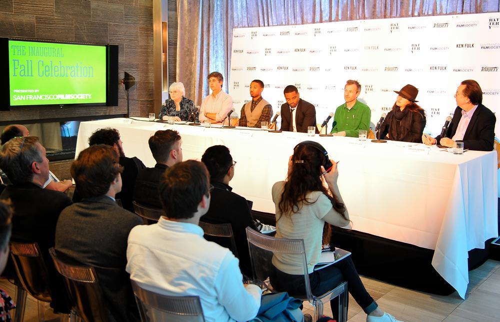 June Squibb, Alexander Payne,Michael B. Jordan, Ryan Coogler, Spike Jonze, Jehane Noujaim, and Steven Gaydos