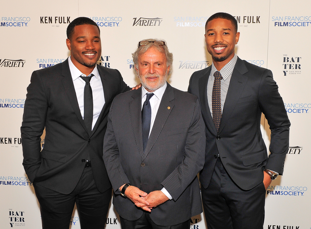 Ryan Coogler, Sid Ganis, and Michael B. Jordan
