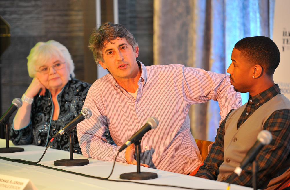 June Squibb, Alexander Payne, and Michael B. Jordan
