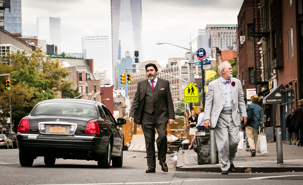 Alfred Molina and John Lithgow in Love Is Strange by Ira Sachs.