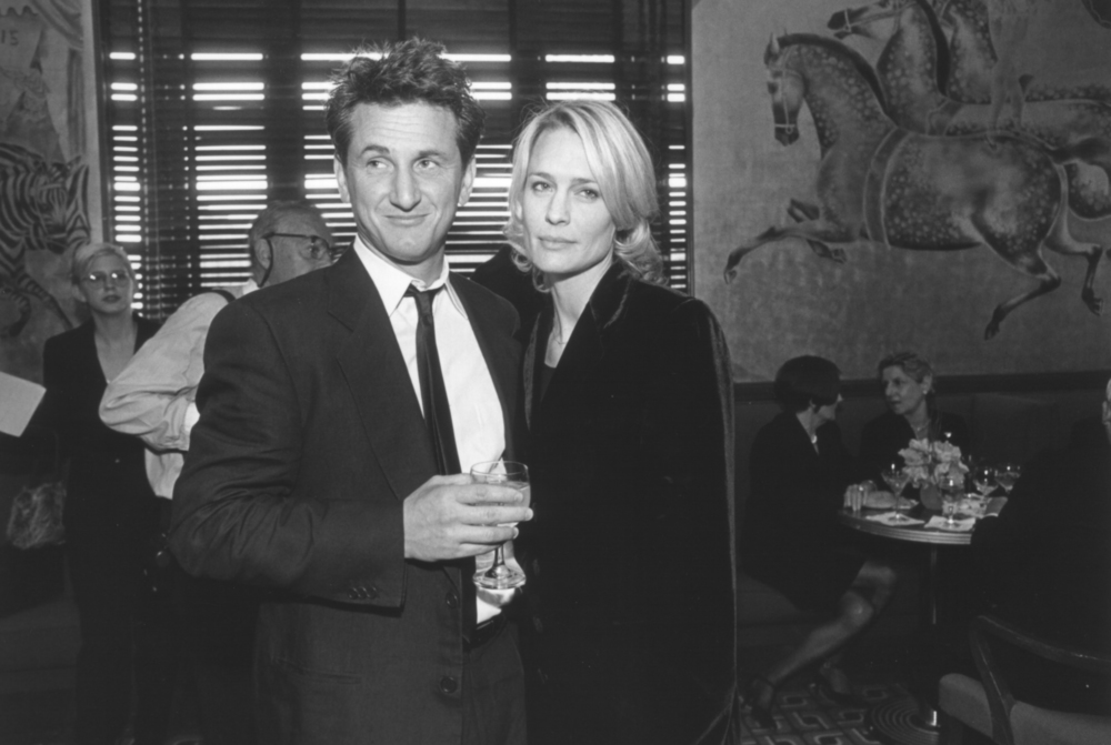 Peter J. Owens Award recipient Sean Penn with Robin Wright Penn at the 42nd SFIFF