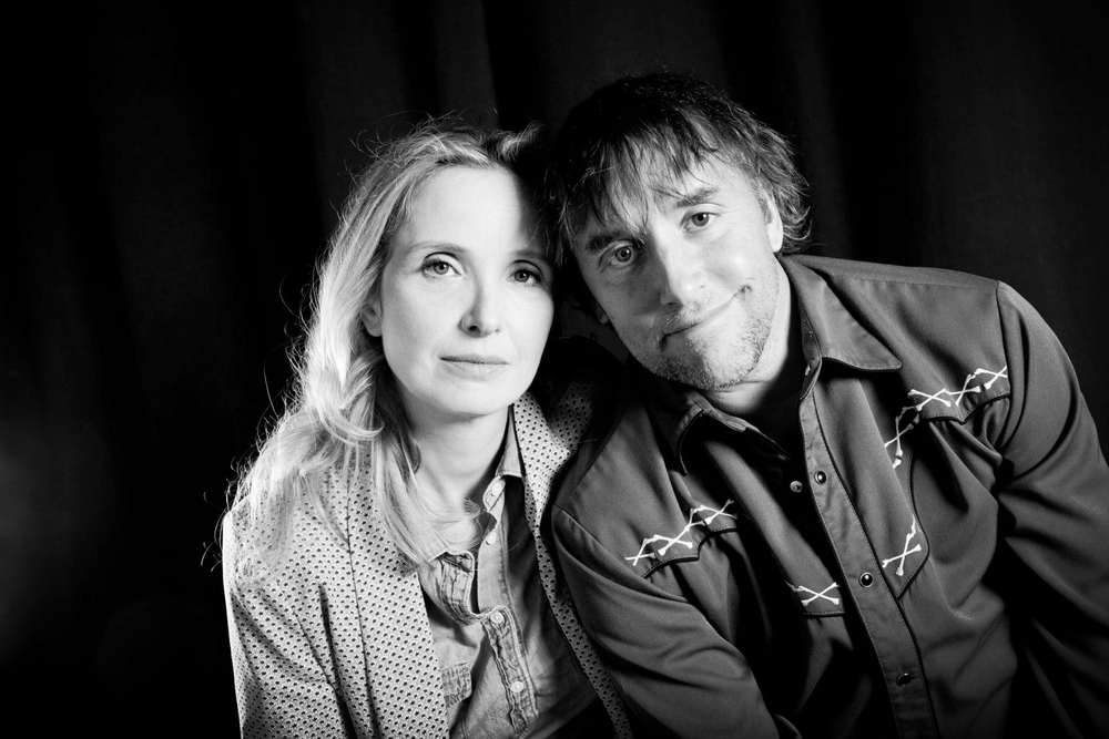 Julie Delpy and Richard Linklater at the premiere of BEFORE MIDNIGHTat the 56th San Francisco International Film Festival, now nominated for Best Adapted Screenplay.