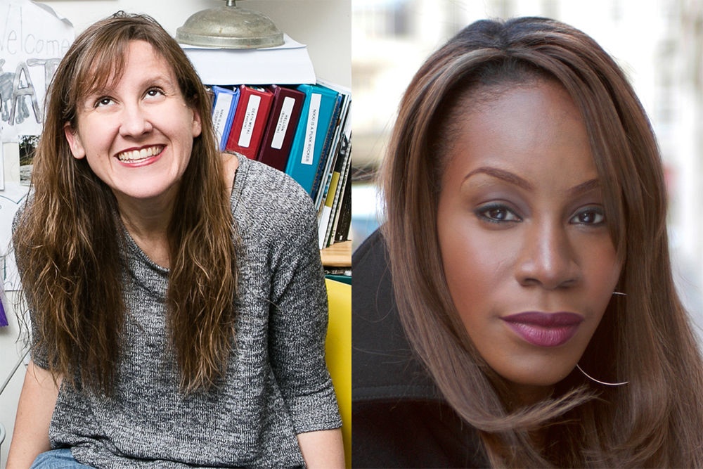 Kat Candler (left) - Amma Asante (right)