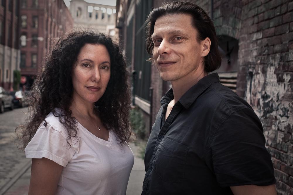 Allison Berg with co-director Frank Keraudren