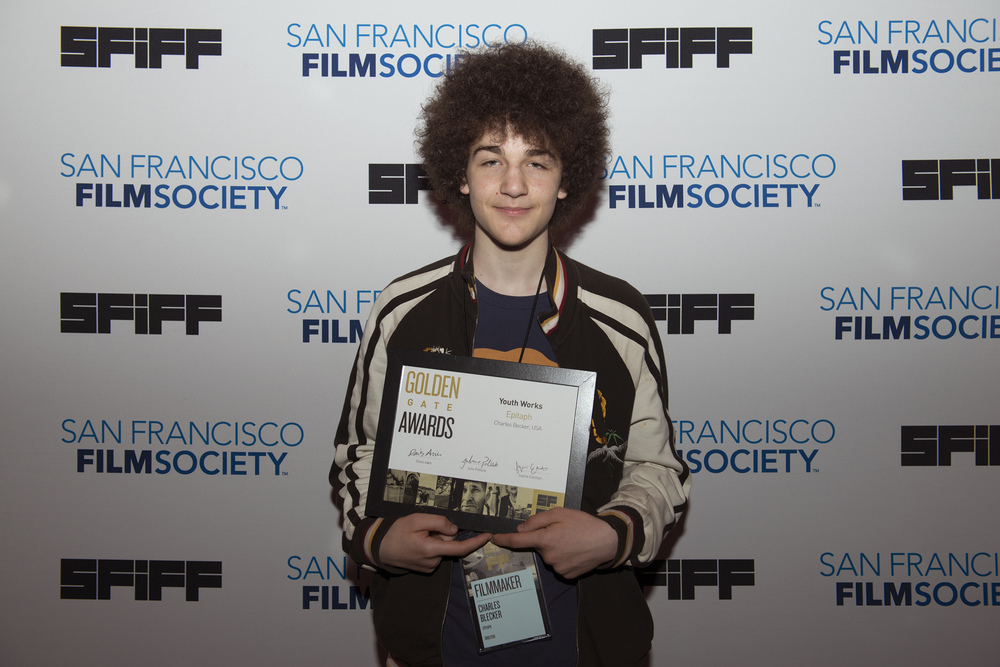 Charles Blecker, director of EPITAPH, winner of the Golden Gate Award for Youth Works