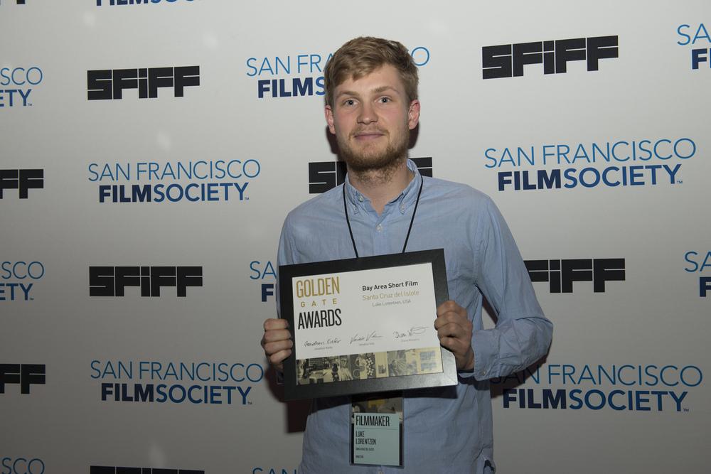 Luke Lorentzen, director of SANTA CRUZ DEL ISLOTE, winner of the Golden Gate Award for a Bay Area Short