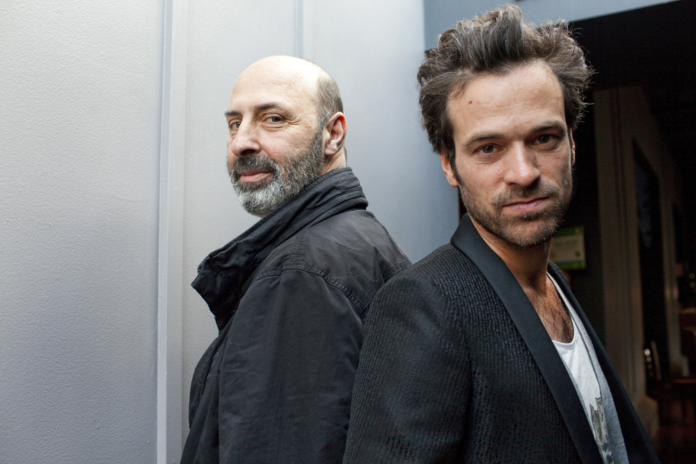 Director Cédric Klapisch and Actor Romain Duris
