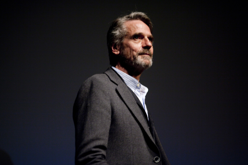 PETER J. OWENS AWARD recipient Jeremy Irons