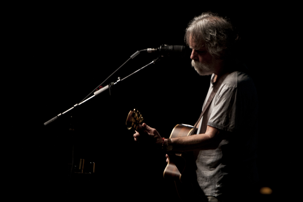 Bob Weir performing live after the screening of THE OTHER ONE: THE LONG,STRANGE TRIP OF BOB WEIR at the 57th San Francisco International Film Festival Photo: Tommy Lau