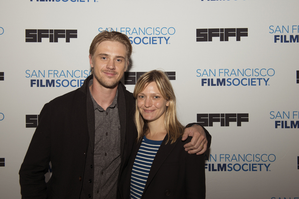 Actor Boyd Holbrook and Director Sara Colangelo