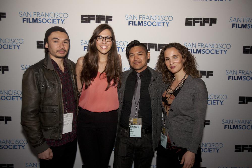 Director Josef Wladyka and the MANOS SUCIAS team