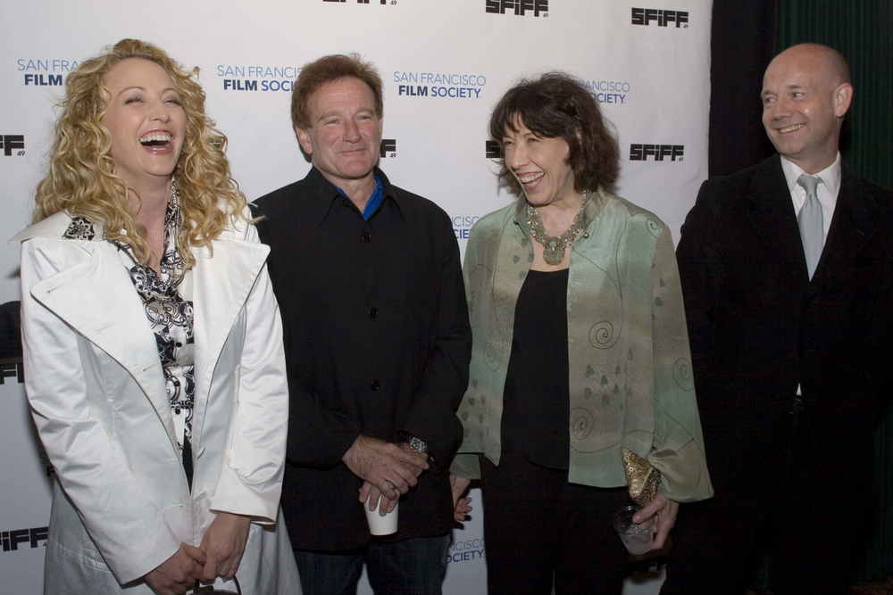 Virginia Madsen, Robin Williams, Lily Tomlin and Graham Leggat