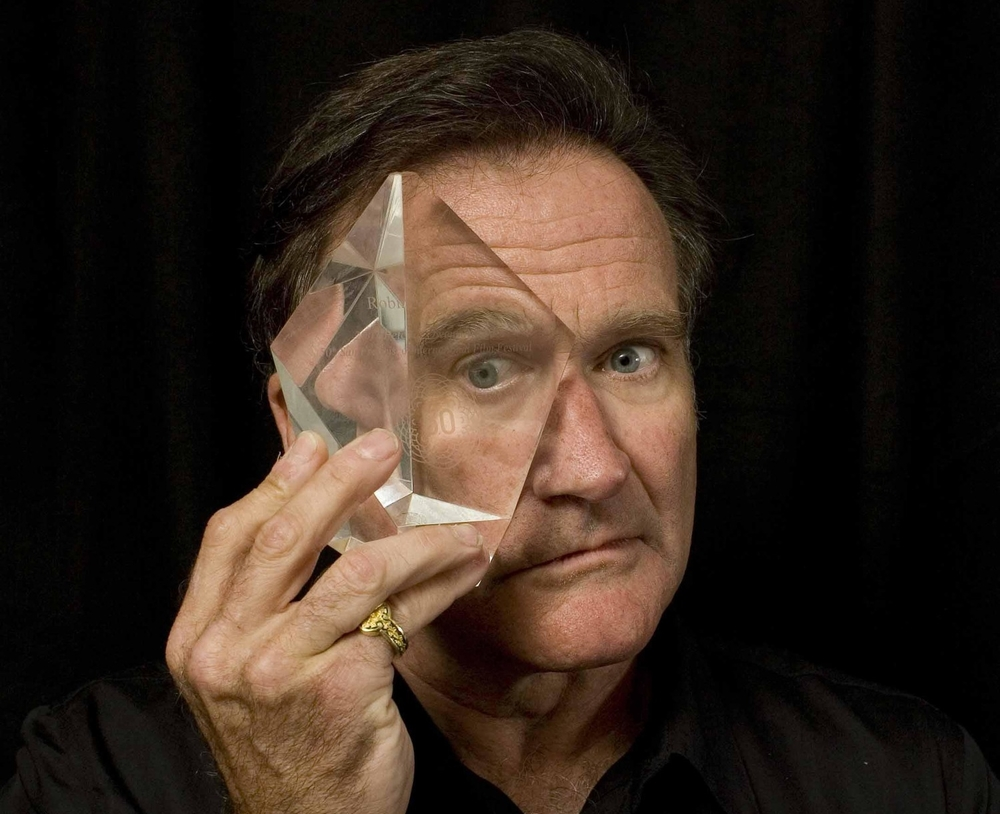 Peter J. Owen Award recipient Robin Williams