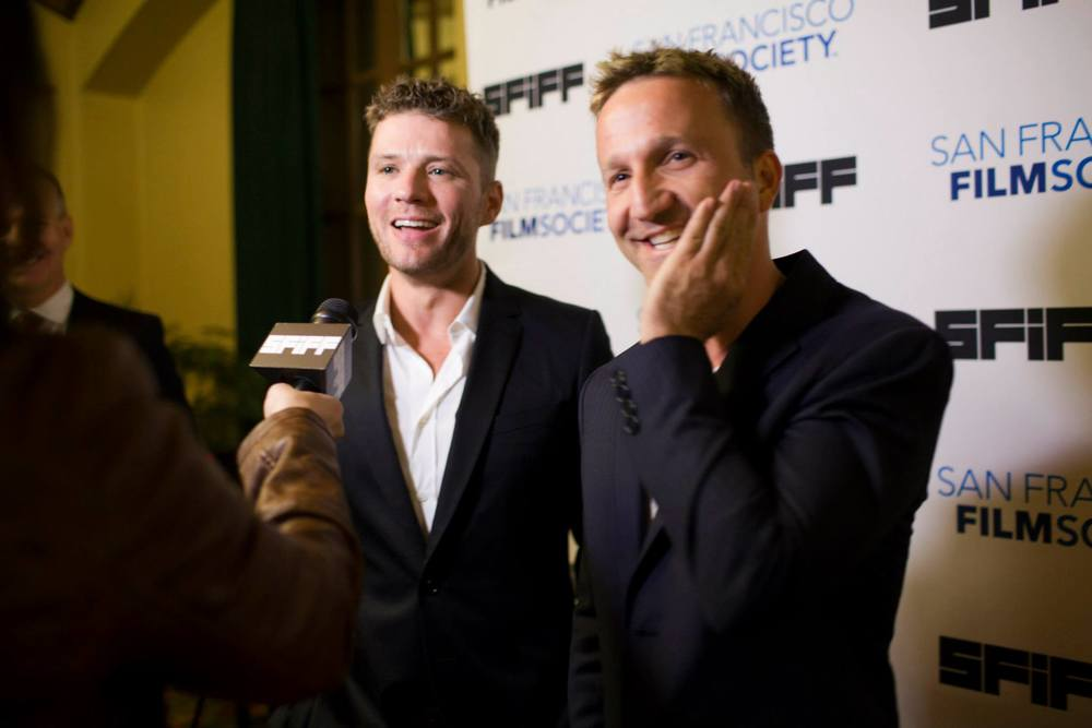 Ryan Phillippe and Breckin Meyer at the Castro Theatre