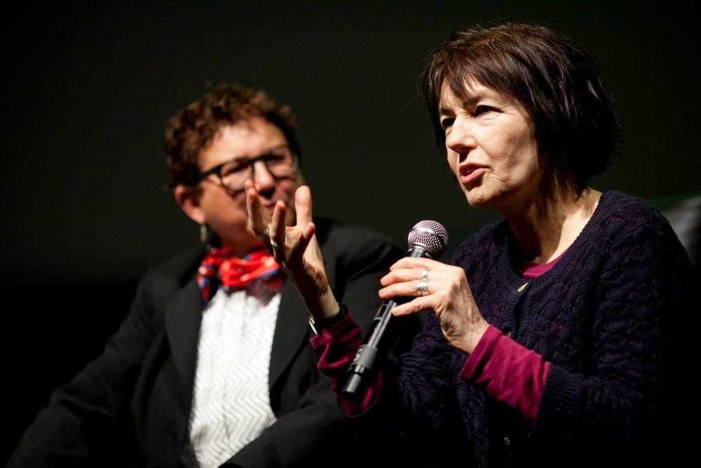 POV Award recipient Kim Longinotto