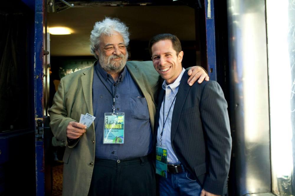 Filmmaker Staton Kaye & Variety's Scott Foundas