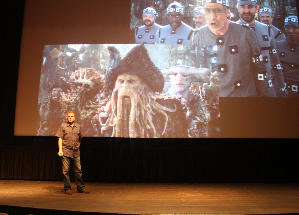 ART & SCIENCE OF LUCASFILM: INSIDE MOTION CAPTURE, 2011.