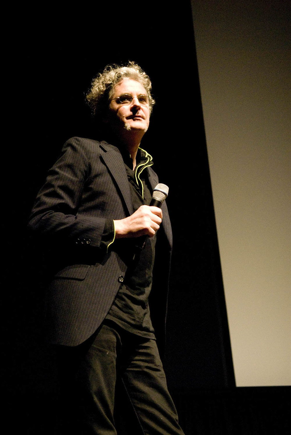 Craig Baldwin at the San Francisco International Film Festival