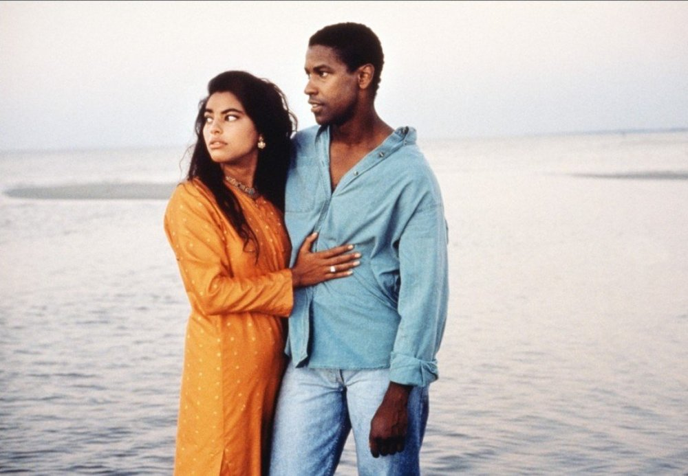 Sarita Choudhury and Denzel Washington in  Mississippi Masala  (1991)