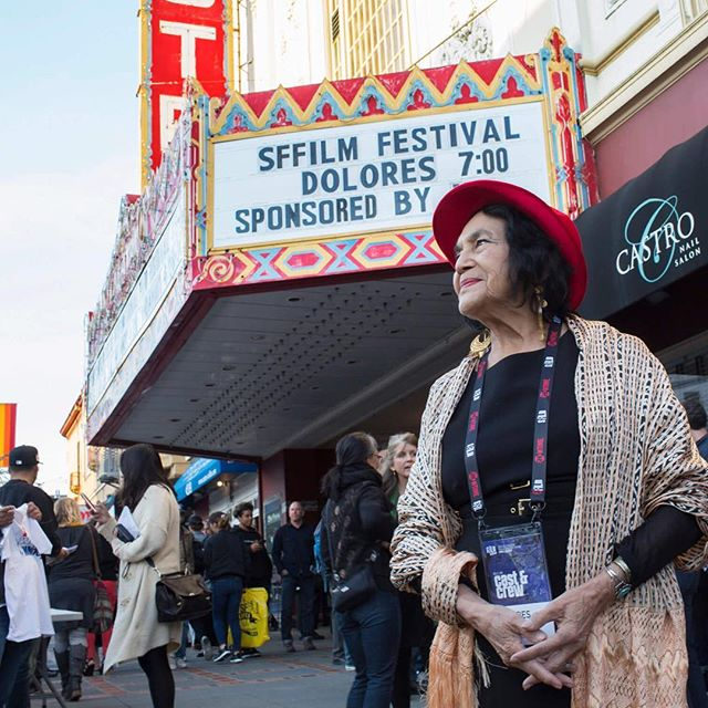 Rebel. Activist. Feminist. Mother. Catch #SFFILMFestival hit @Dolores_Movie in theaters! Visit doloresthemovie.com #DoloresHuerta