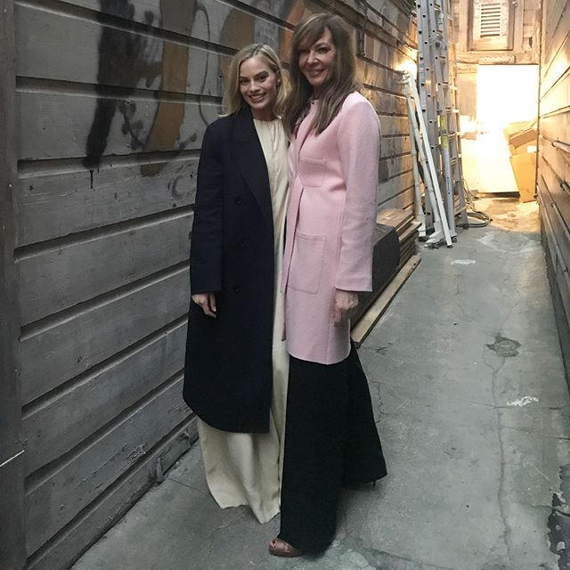 Co-stars #margotrobbie & #AllisonJanney in #sf for a special screening of #ITonya!