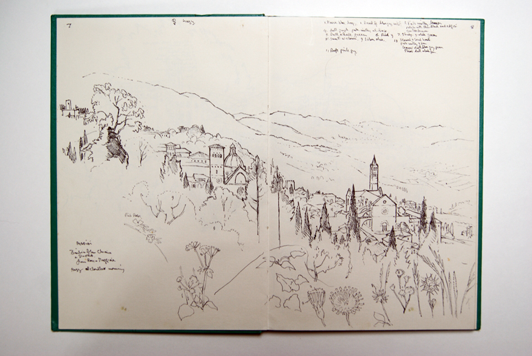 Ollo's Sketchbook, 1992