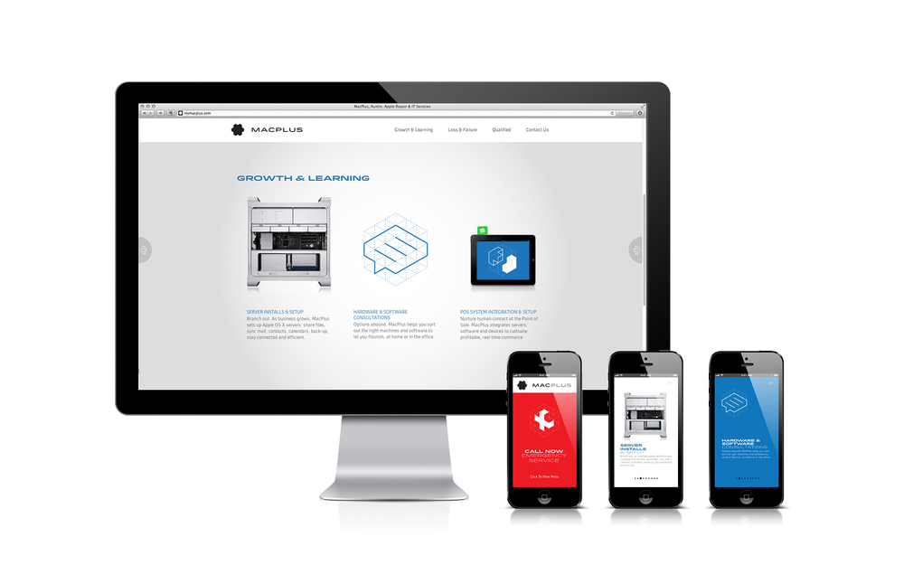 MacPlus Mobile & Website Design