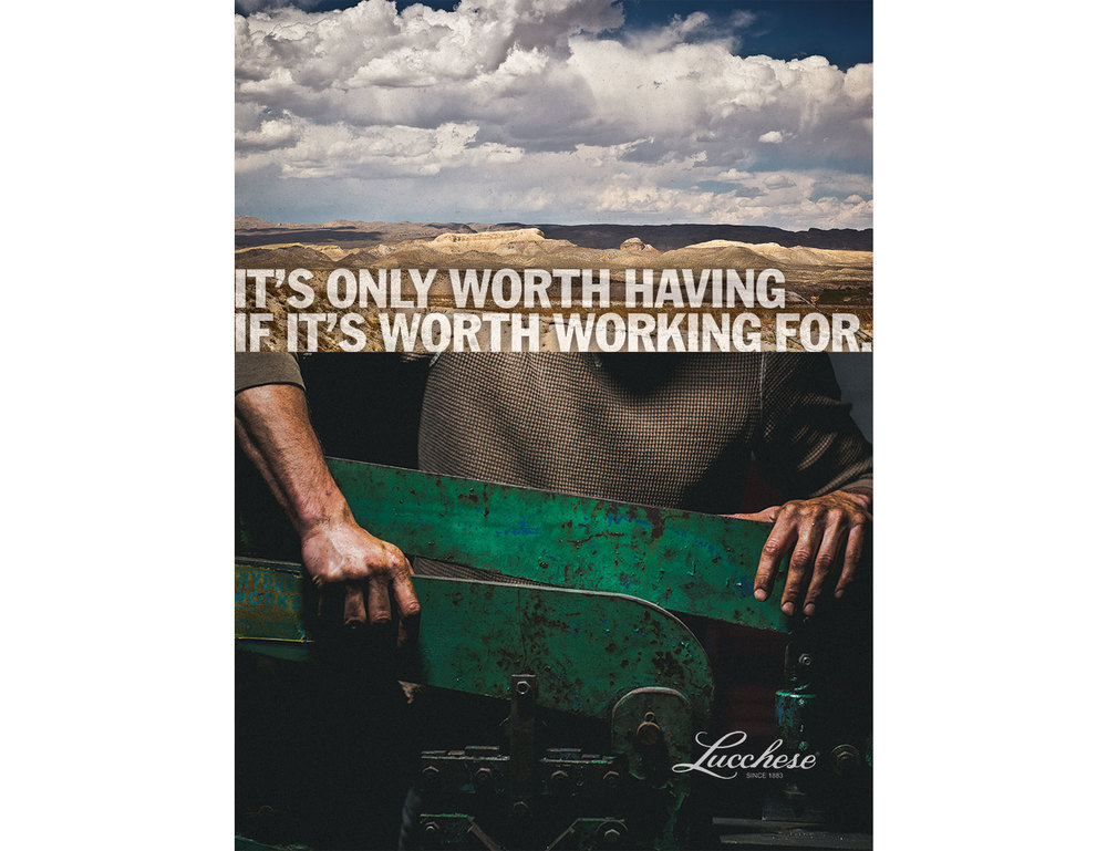 Lucchese Poster Design 1