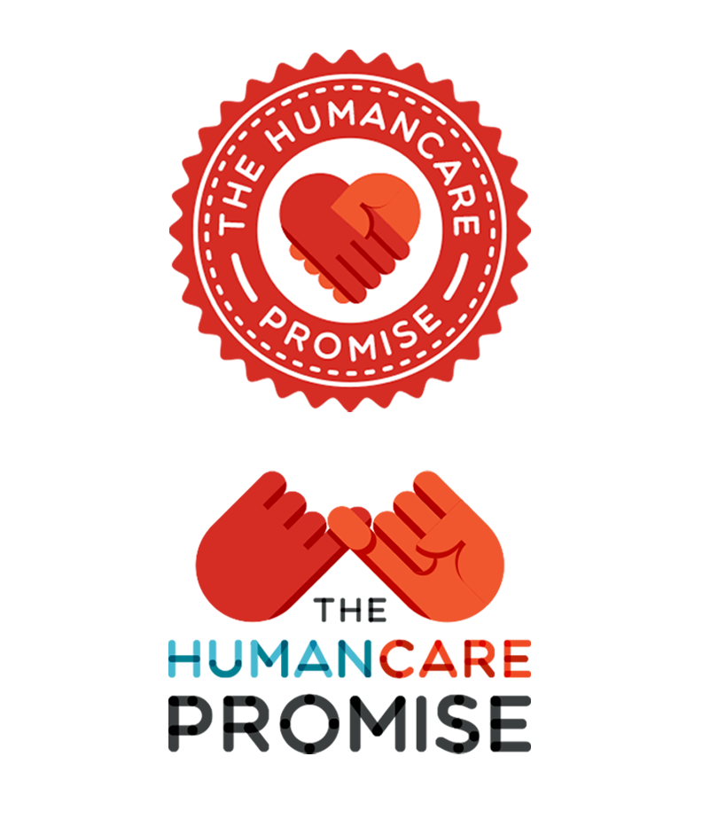 The Humancare Promise Logo Design Concepts