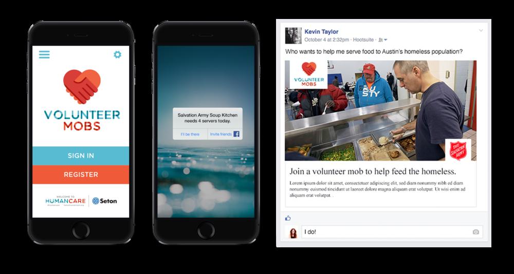 Volunteer Mobs App