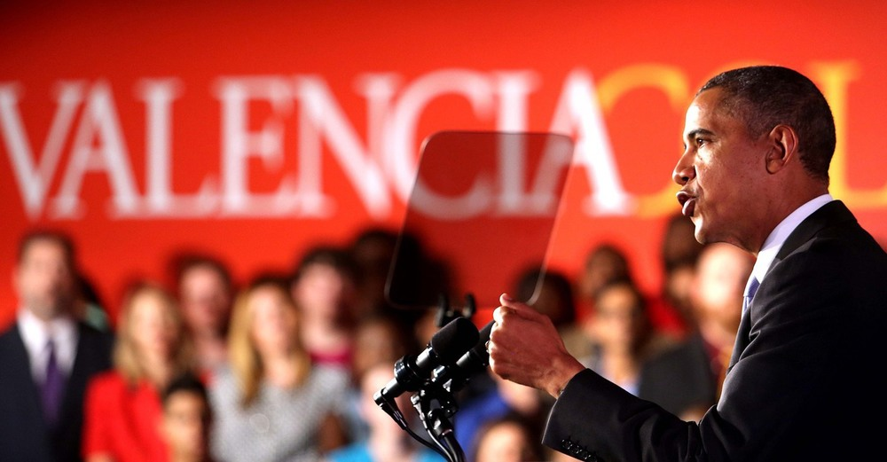Valencia College was name best community college in 2012 and President Obama spoke on campus