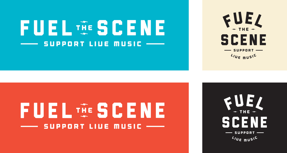 Fuel The Scene Logo Designs