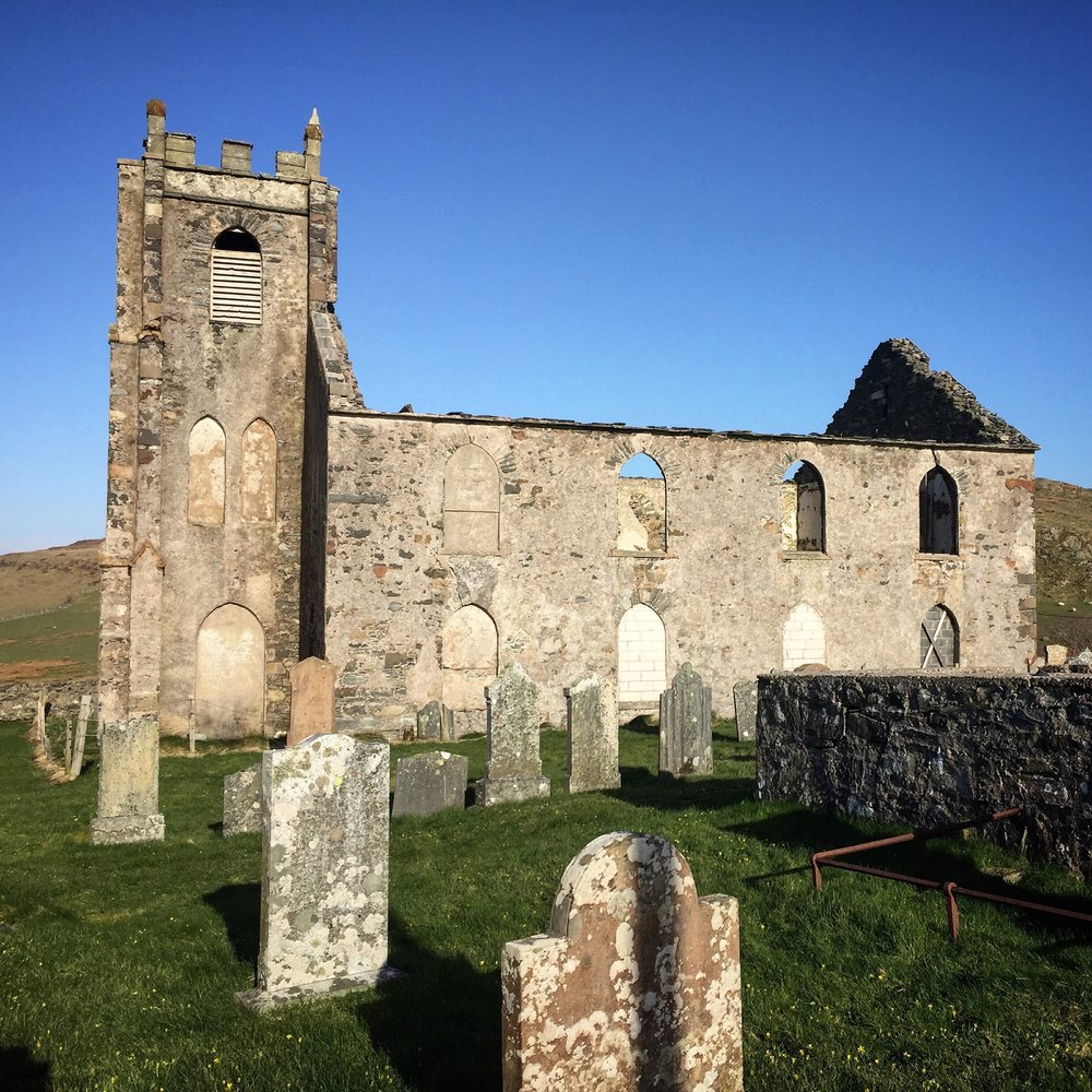 The Ruins of the Kilfinichen church