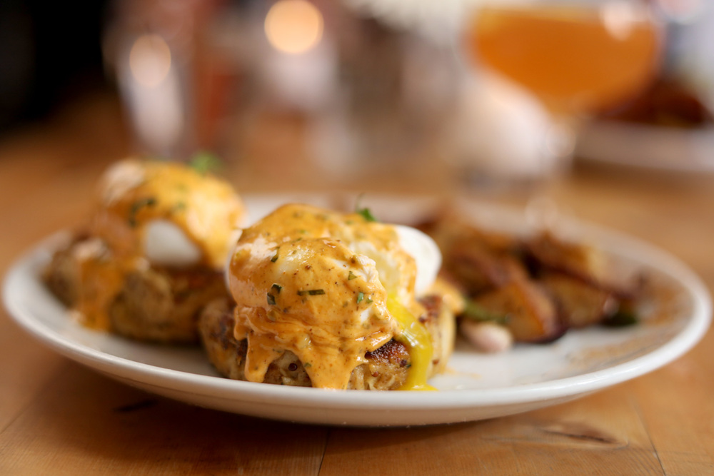 'Real Deal' Maryland Crab Cake Benedict
