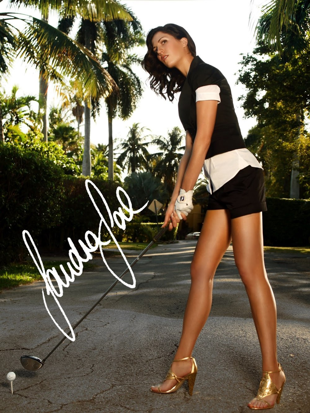 Sandra Gal LPGA - Best Legs on Tour?...