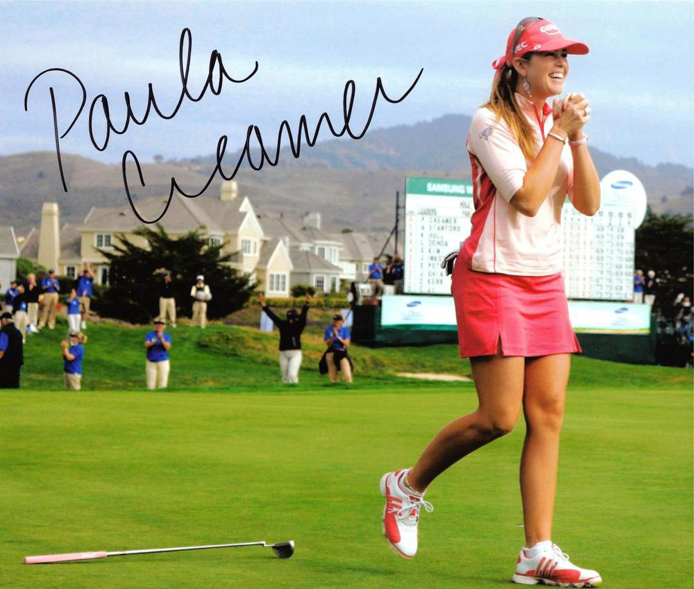 Paula Creamer LPGA - The Pink Panther!