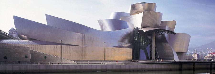 The Guggenheim Museum In Bilbao, Spain