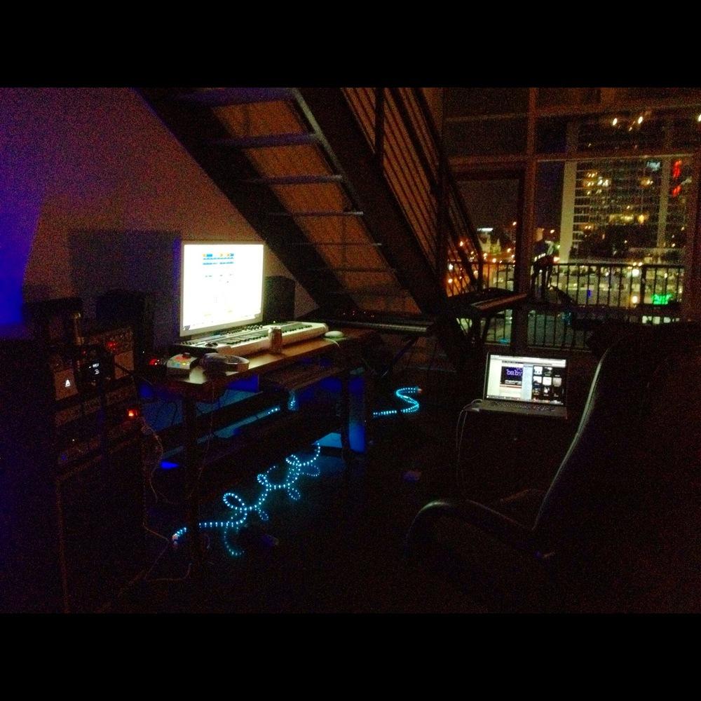 The studio in Atlanta, Dotworld v5