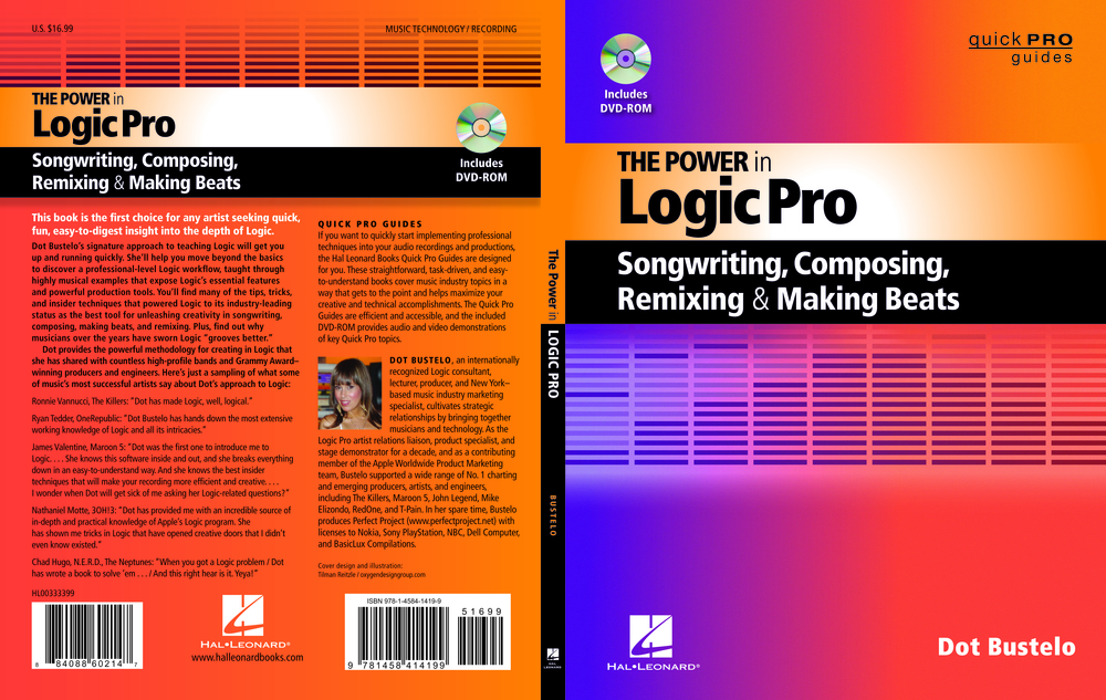 The POWER in Logic Pro available on Amazon.  Click here!