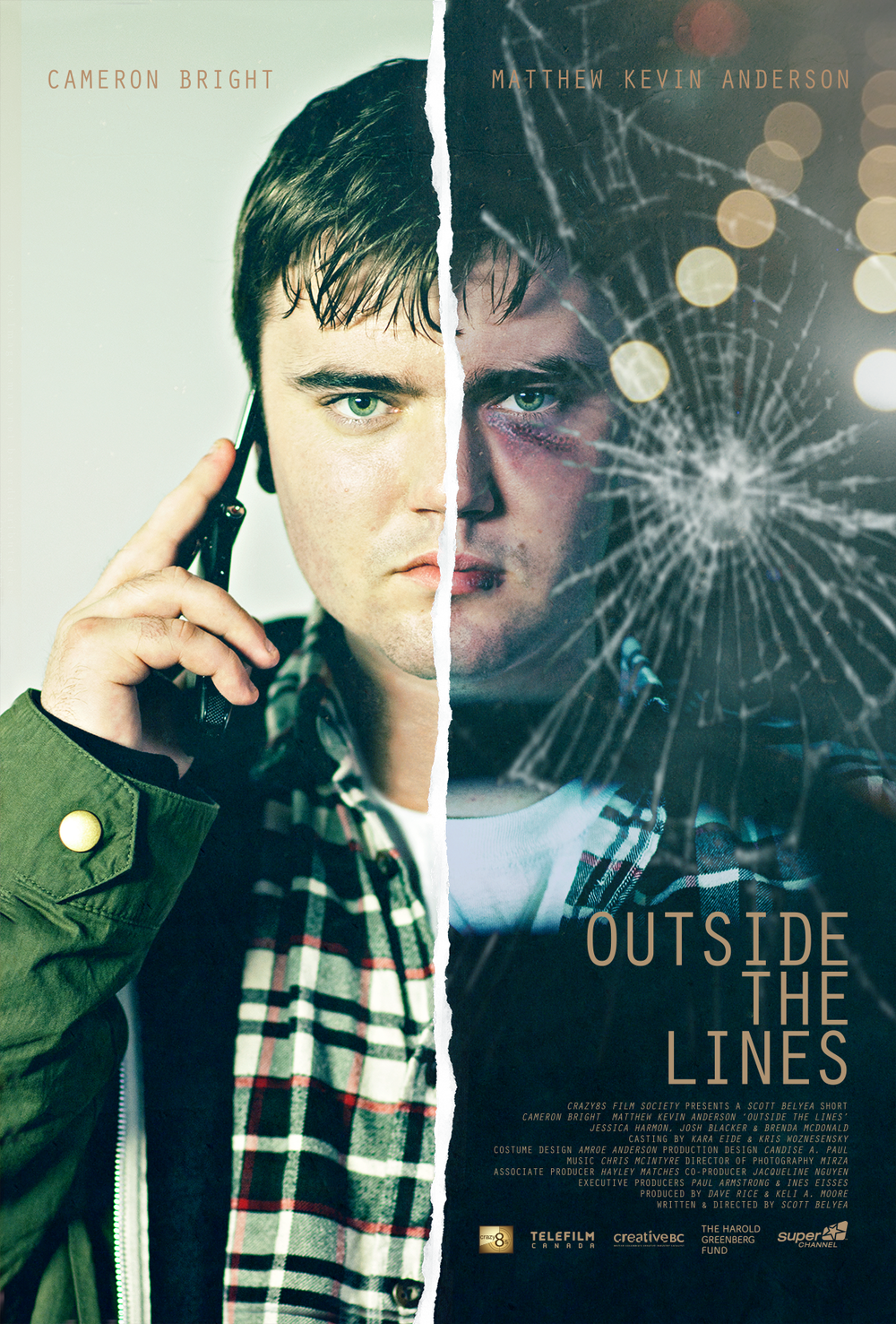 """OUTSIDE THE LINES""  (2015)"