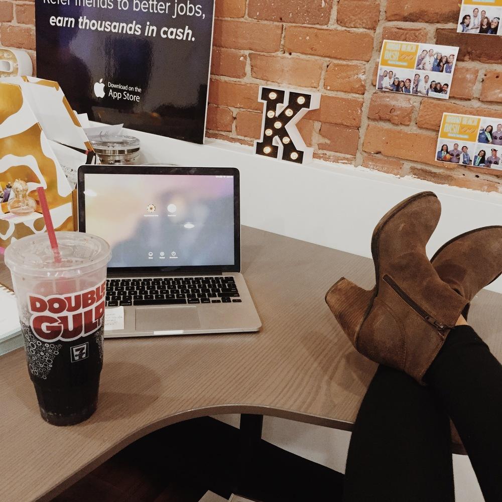 Thursday vibes. Because boot season waits for no (wo)man.