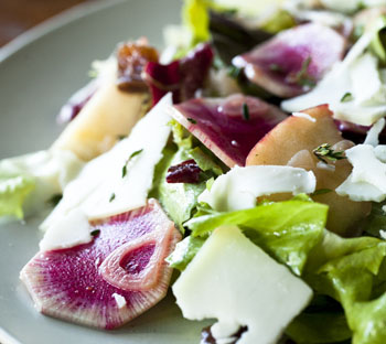 Outerlands Watermelon Radish Salad