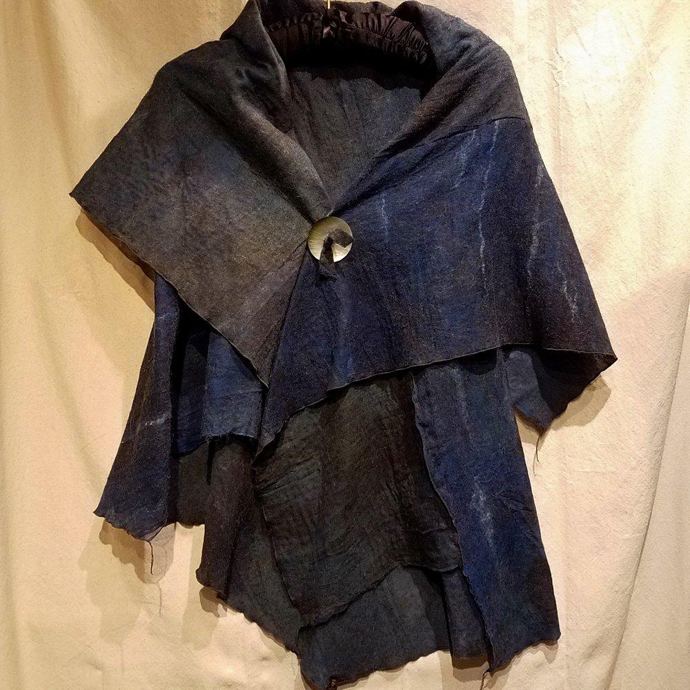 Origami Wrap/Vest BBG1143 Alpaca and Silk $485
