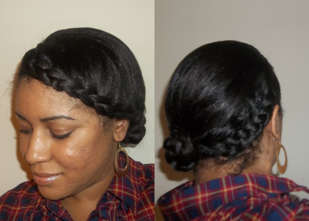 Outstanding 6 Diy Protective Styles Honeybenatural Hairstyle Inspiration Daily Dogsangcom