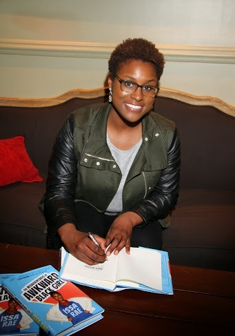 "Issa Rae ""The Misadventures of Awkward Black Girl"" Book Signing"