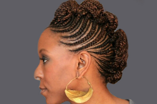 African Diamond Braids