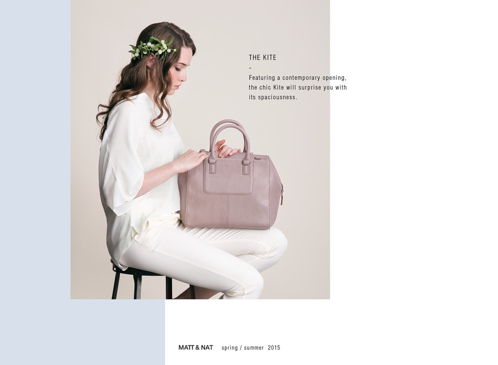 """Canada's Matt & Nat bags are made without leather or any animal-based materials, and the quality has to be seen to be believed. These are covetable bags: truly a product worthy of the """"luxury"""" tag."""